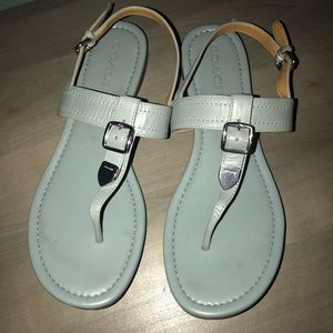 Like new Coach sandals 9.5